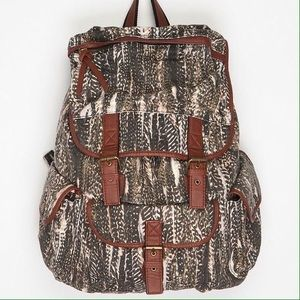 Ecote Handbags - UrbanOutfitters Ecoté multicolored canvas backpack