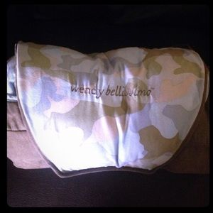 Other - Wendy Bellissimo Blue Camo Lux Cart/Seat Cover
