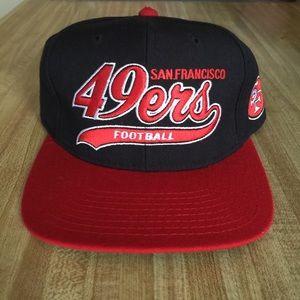 27148d1cf Starter Accessories - Vintage San Francisco 49ers Starter Snapback Hat