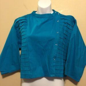 MONA LISA Jackets & Blazers - Mona Lisa light weight & snap up jacket NWOT