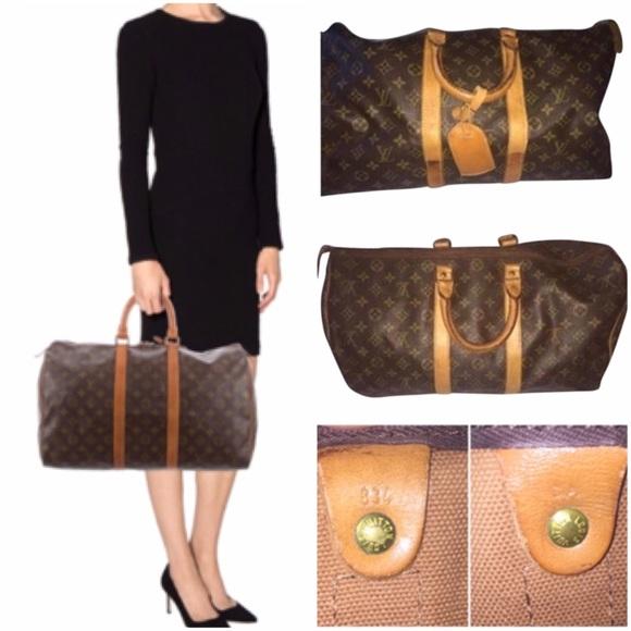 Louis Vuitton Handbags - Authentic Louis Vuitton Keepall 45 Duffle 2f3edbcc1234d