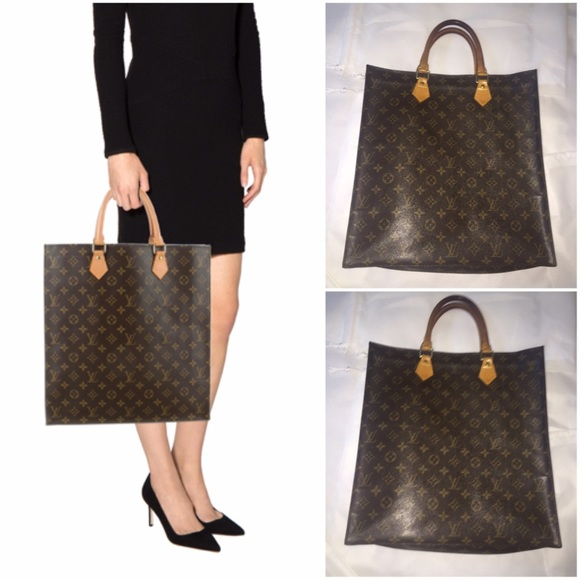 af2a8353b7863 Louis Vuitton Handbags - Authentic Louis Vuitton Monogram Sac Plat