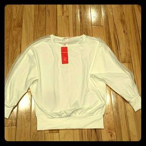 Allegra K white shirt nwt long sleeve size small