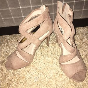 Nude Tan Qupid Heels
