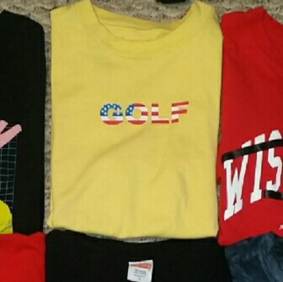 c25c5b943372 Golf Tops - Golf Wang America Shirt