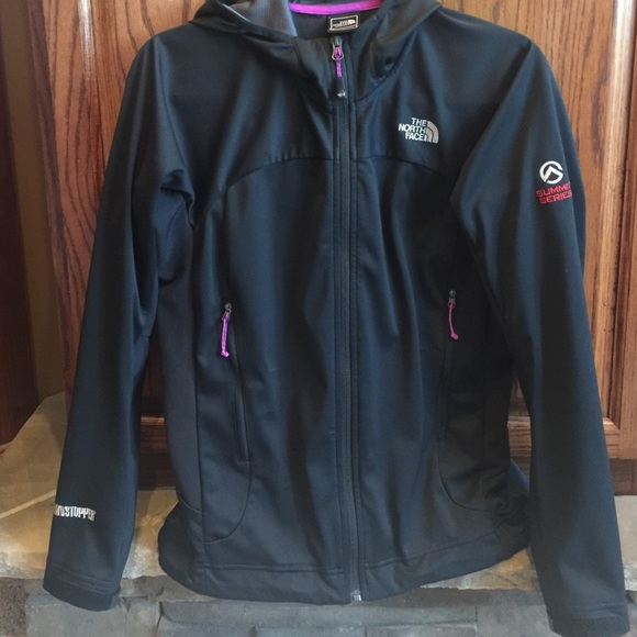 ccd6713c3 closeout womens the north face windstopper jacket pattern black ...