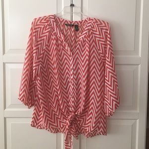 Beautiful Chevron Blouse