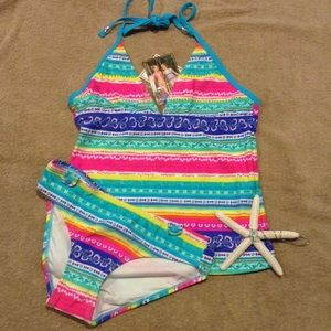 2Chillies Other - Vibrant Tankini Swimsuit Set