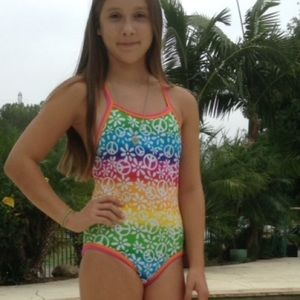 2Chillies Other - Peace Sign One Piece Swimsuit