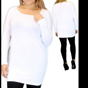 Tops - New White Long Sleeve Top