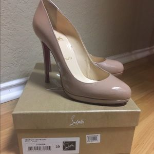 70 off christian louboutin shoes beige louboutin from tawanna s