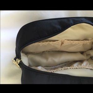 Giorgio Armani Bags - Black Giorgio Armani Makeup Bag with Gold Logo