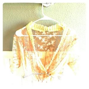 TAKING OFFERS! Free People Lace Top!