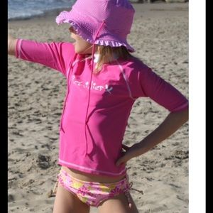 2Chillies Other - 🎉HP🎉Pink UPF Protection Rash Guard