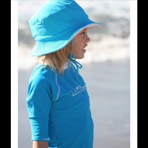 2Chillies Other - Blue UPF Protection Swim Rash Guard