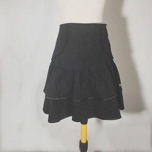 D&G Dresses & Skirts - NWT D&G TIERED BLACK MINI M