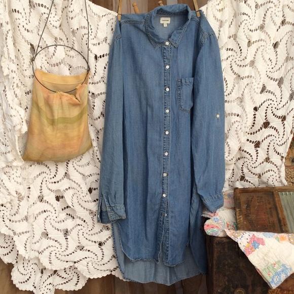 20660d1c93e Sneak Peek 100% tencel shirt dress. M 5787ebd8291a35f74f00a03c