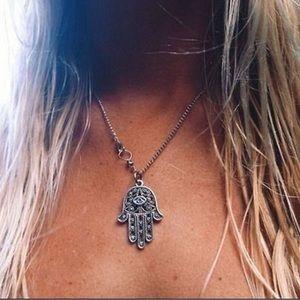 Jewelry - Hamsa Fatima Hand Pendant