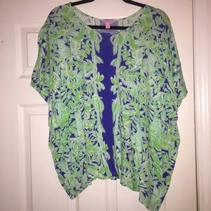 Lilly Pulitzer Cooper Caftan Koala of the Wild S/M