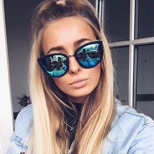 "Quay Australia ""My Girl"" mirrored sunglasses"