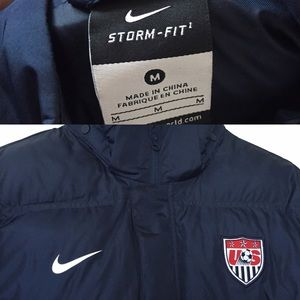 42d166952cbe Nike Jackets   Coats - Nike Team USA Soccer Puffer Coat (Storm Fit)