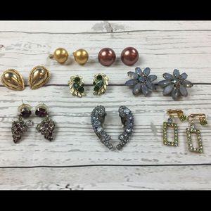 Jewelry - Lot of 8 Fashion Earrings