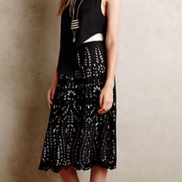 Anthropologie Dresses & Skirts - Anthropologie Delony Lace Skirt