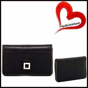 Lodis Handbags - Mini Leather Wallet Card Case Clutch