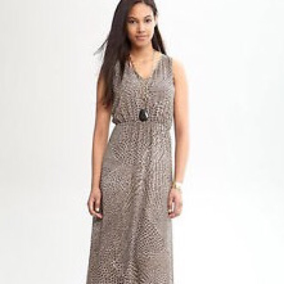 79% off Banana Republic Dresses & Skirts - Banana Republic Animal ...