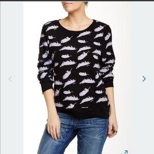 Wildfox Sweaters - NWOT! Wildfox Sideways Pillow Fight Sweatshirt