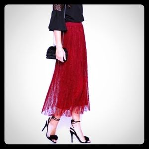 Vero moda lace maxi skirt. Purchased from ASOS!