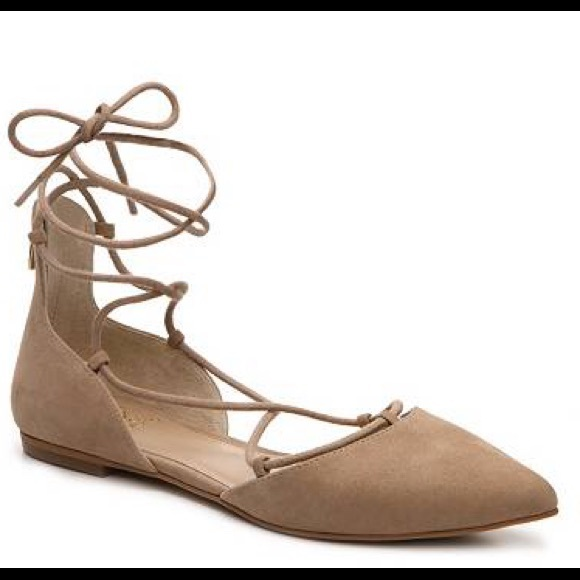 outlet free shipping authentic Vince Suede Lace-Up Flats w/ Tags Manchester online new online free shipping low price fee shipping clearance real eVewdqD3
