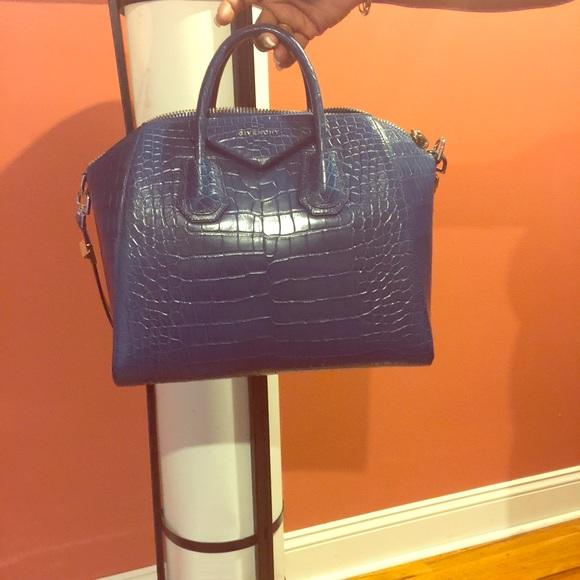 3c51f7e676 Givenchy antigona alligator satchel handbag