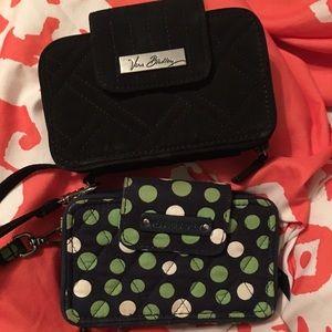2 Vera Bradley wallets, $25 each