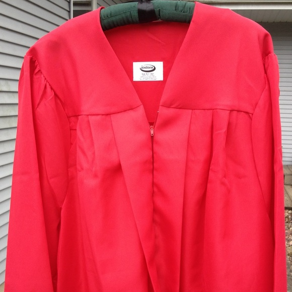 Jostens Other Red Graduation Gown Poshmark