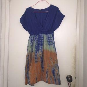 Tie Dye Sleeve Dress