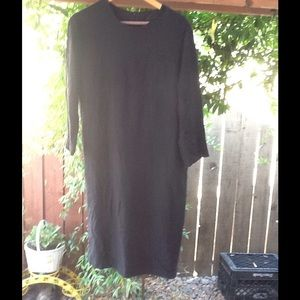 Kanojo Goth Black Dress Vintage 90's