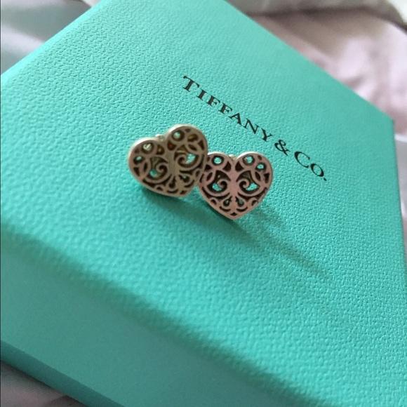9a511d704 Tiffany Enchant heart earrings in sterling silver.  M_57882c0ff09282a7b8027089