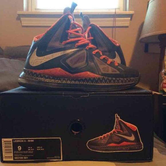 Nike Shoes   Lebron X Bhm   Poshmark