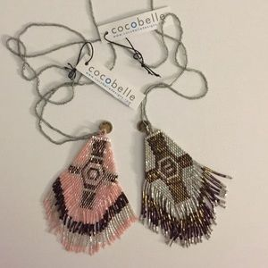 Cocobelle Jewelry - COCOBELLE Boho Tribal Beaded Necklace