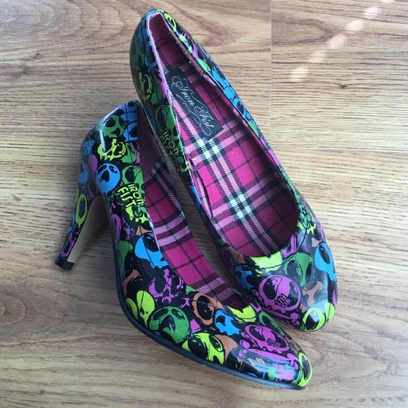 e2df9a05c31e Iron Fist Shoes - Adorable Iron Fist 99 Dead Balloons Heels