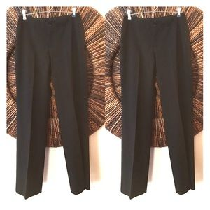 Pants - Banana Republic Classic Black Pant Suit Sz 0