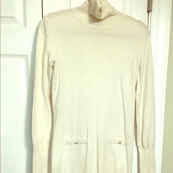 G By Guess Dresses Cream Color Sweater Dress Poshmark
