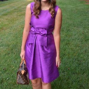 kate spade Dresses & Skirts - SALE Bow Front Purple Kate Spade Dress