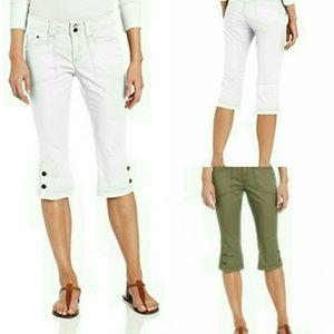 Royal Robbins Pants - 💙 Kick it Capri in GREEN