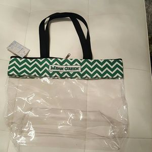 Stadium Clear Tote University of North Texas