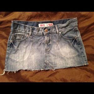 Cute Mini jean skirt