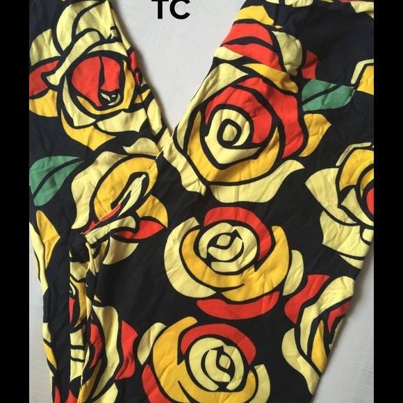 40f9372d4a0d90 LuLaRoe Pants | Tc Disney Roses Unicorn Print | Poshmark