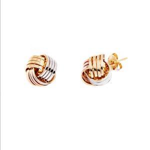 Jewelry - NEW LOVE KNOT STUD EARRINGS
