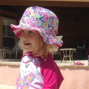 2Chillies Other - Floral Reversible Sun Hat